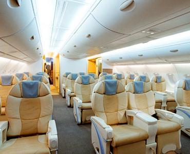Большой в мире пассажирский самолет