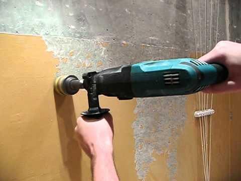 насадка на дрель для очистки от краски